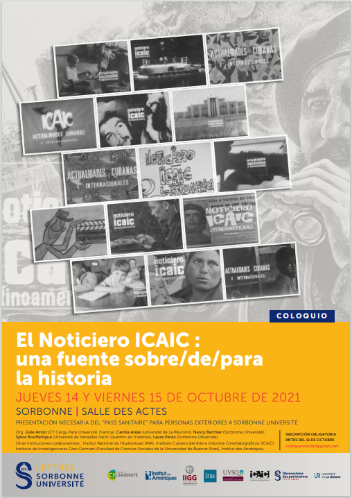 Affiche colloque Noticiero ICAIC