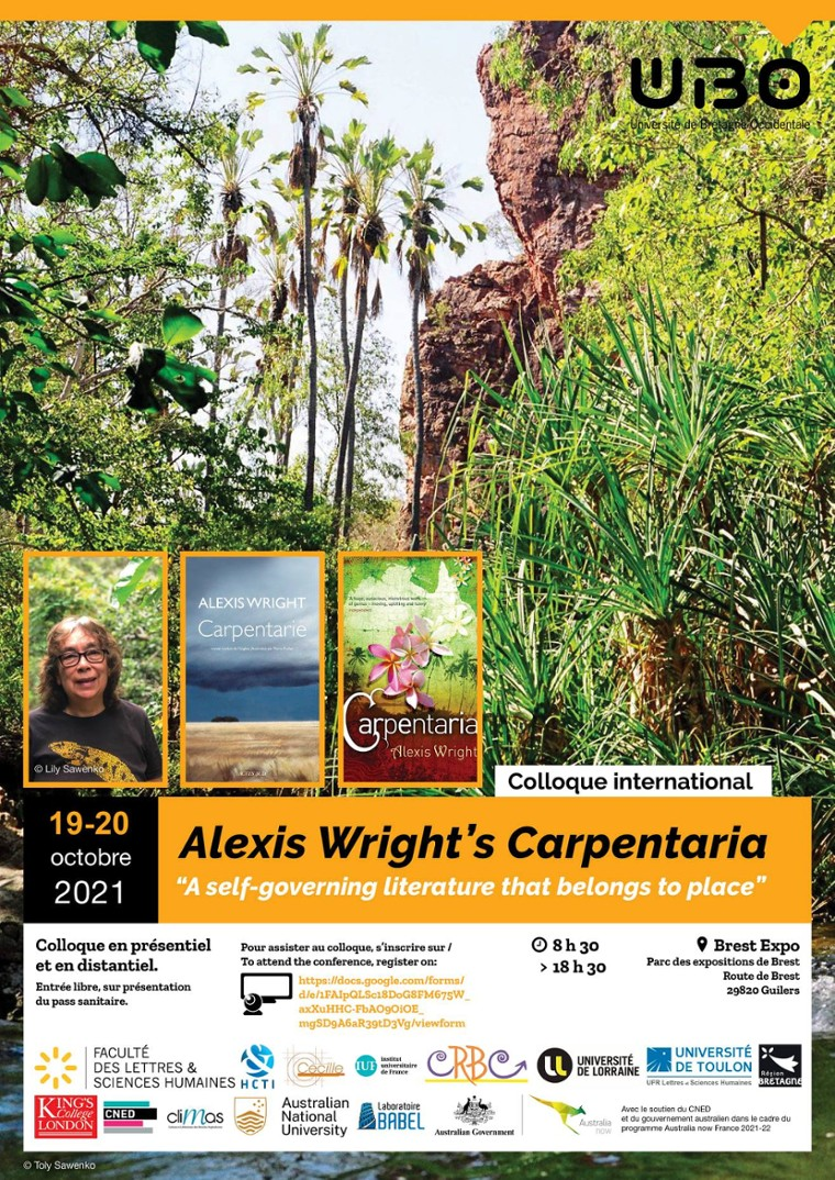 Alex Wright's Carpentaria. A self-governing literature that belongs to place