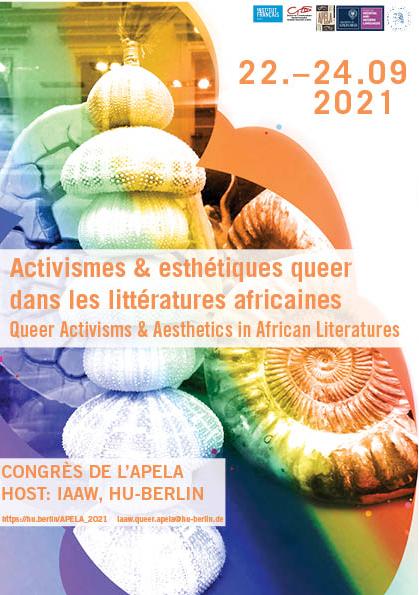 Congrès de l'APELA – Activismes et esthétiques queer dans les littératures africaines